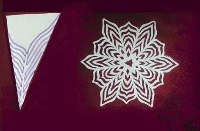 9 karácsonyi dekorációs sablon hópehely ablakdíszek készítéséhez