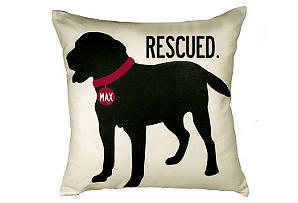 Personalized Dog Rescue Pillow