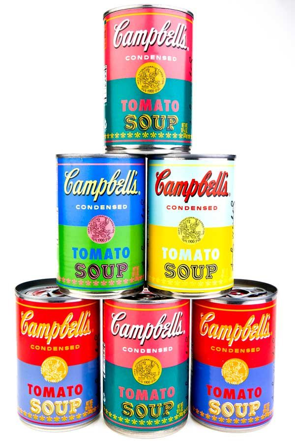 Campbell's Soup salutes Andy Warhol with limited edition tomato soup cans | insideKENT