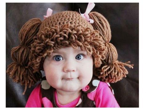 Необычные детские шапочки / Вязание крючком / Детская одежда крючком. Схемы