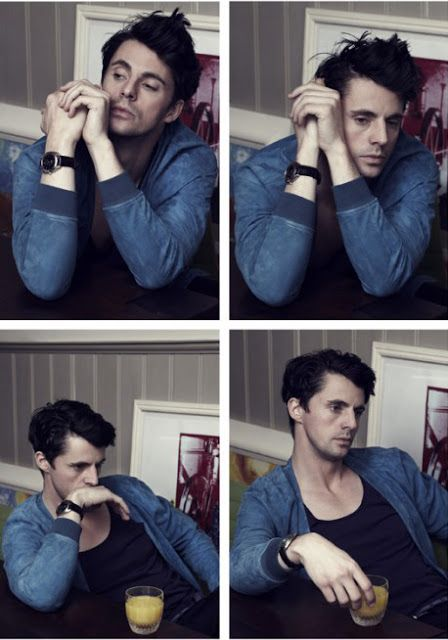 Matthew Goode for Esquire
