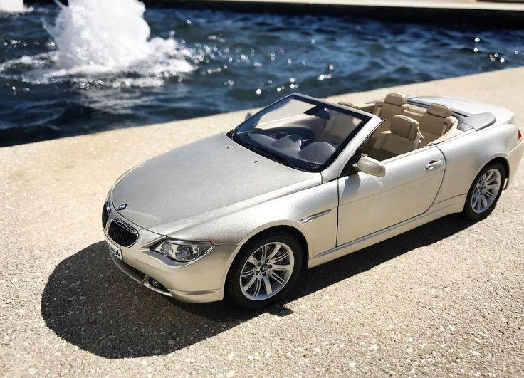 Kyosho E64 BMW 645Ci (Dealer Edition) - Mineral Silver Metallic