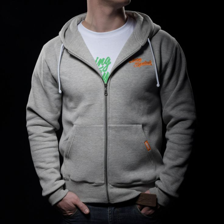 4SR unisex hoodie Zipper