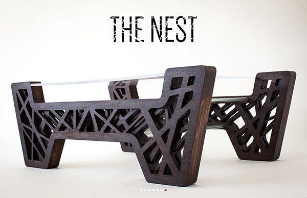 The Nest by Erik Pfannenstiel, via Behance