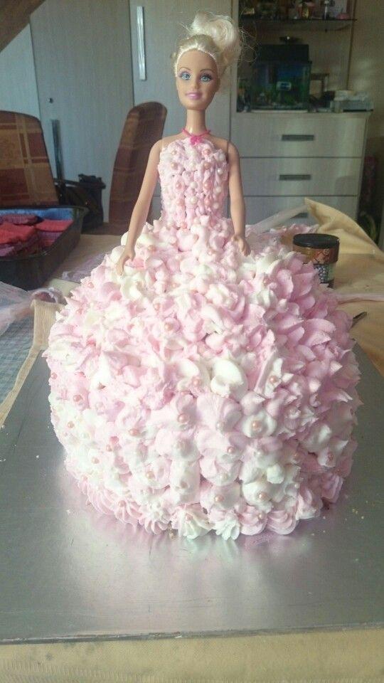Fathima princess barbie cake