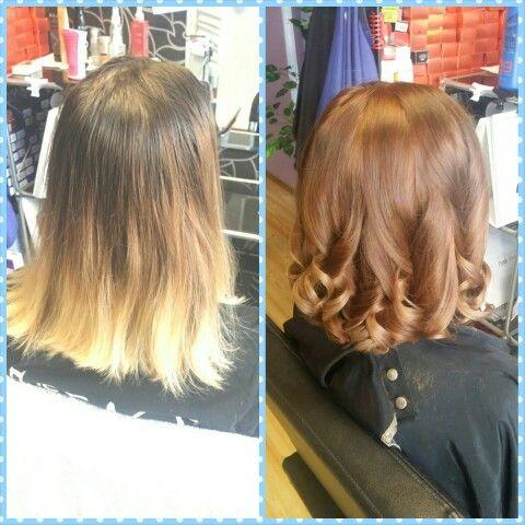 #ombre #colour #hair #beautysalon   #czechhair #haircompany #bodyartstudio