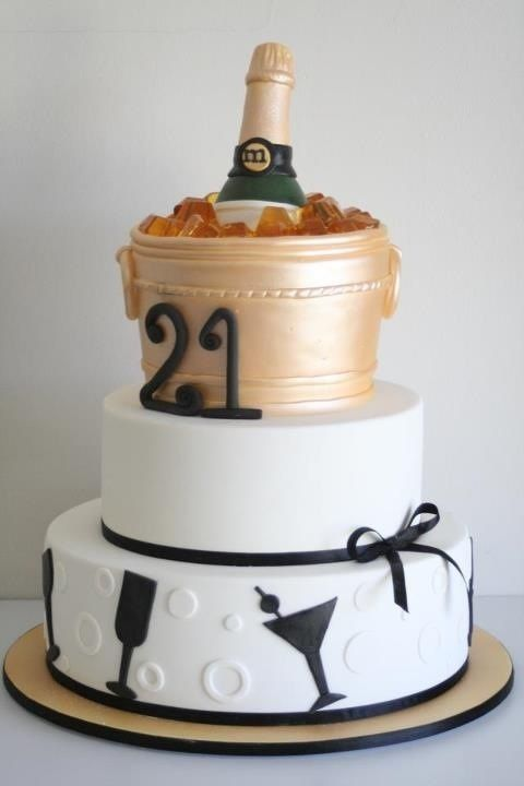79 Best Cakes - 21St Birthday Images On Pinterest  Birthdays, Birthday Cupcakes And -4200