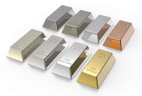 PALLADIUM IS THE WAY TO GO. Palladium, Platinum and White Gold - Metal Illustration