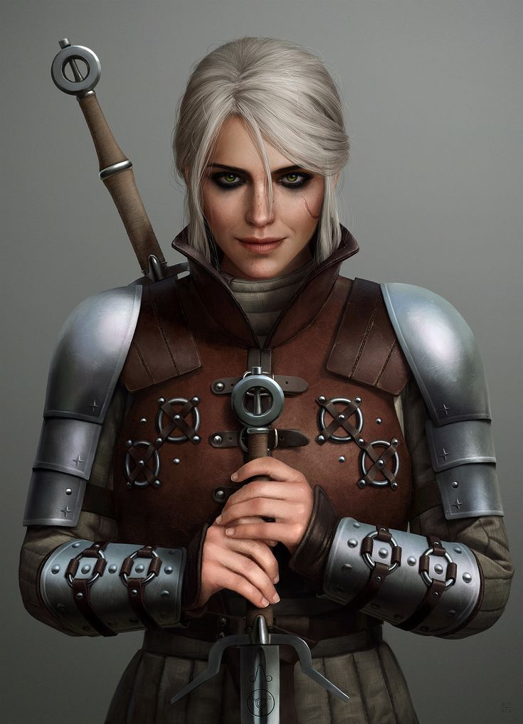 Ciri in Ursine Armor by Ástor Alexander #TheWitcher3 #PS4 #WILDHUNT #PS4share #games #gaming #TheWitcher #TheWitcher3WildHunt
