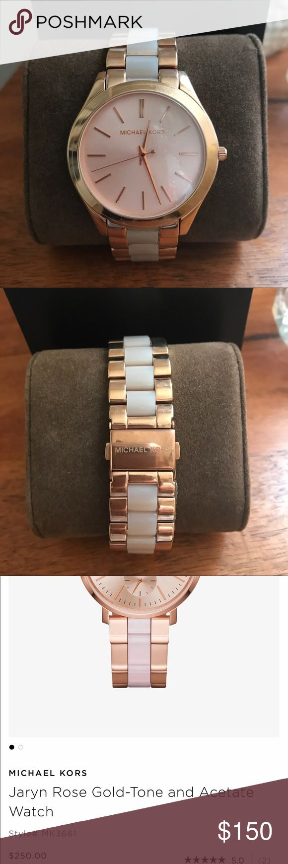Brand New Michael Kors Watch Beautiful, never worn rose gold watch with packaging. KORS Michael Kors Accessories Watches