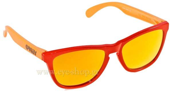 Γυαλιά Ηλίου  Oakley Frogskins 9013 24-359 Aquatique Hotspot Fire Iridium Τιμή: 119,00 €