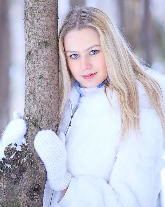 Картинки украиночки зимой