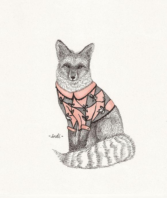 Animal Illustrations on Illustration Served
