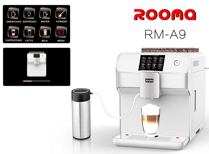 675.00$  Buy here - http://alihs8.worldwells.pw/go.php?t=32782330490 - Fully automatic espresso  cappucinno ,latte,espresso coffee machine(Factory directly sale,excellent quality and perfect price) 675.00$