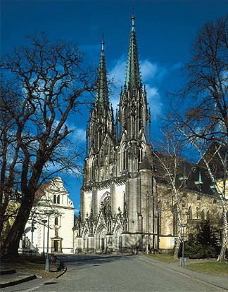Olomouc - St.Wenceslas Cathedral  Wolfgang Amadeus Mozart composed his 6th Symphony here.