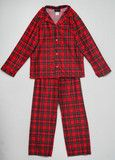 Bunnies Picnic - Laura Dare/Tom Jerry Holiday Plaid Button-Down Pajamas for Toddlers - Boutique Clothing for Girls and Boys
