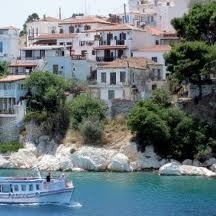 little greek island - skiatos