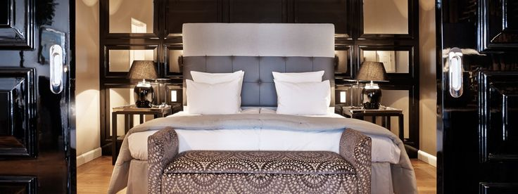 Nimb Hotel (Copenhagen):  Canoodle by candlelight over fried reindeer moss and mushrooms in a Michelin-starred temple to Nordic cuisine. Cap the day in your suite's fireside tub-for-two at the Scandi-chic Nimb Hotel.