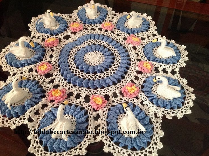 3364 Best Images About Crochet Doilies Tablecloths Runners