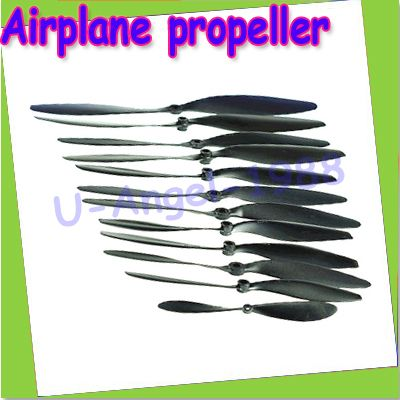 10pcs/lot HY propeller 5045/6030/7060/8043/8060/9047/9060/1047/1147 for rc airplane