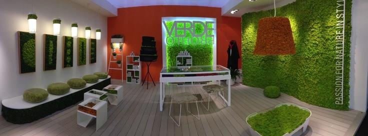 Verde Profilo @ Maison & Objet, Paris 2013: #MOSSdesign Collection and #MOSS Wall & Projects www.themossdesign.com  www.verdeprofilo.com