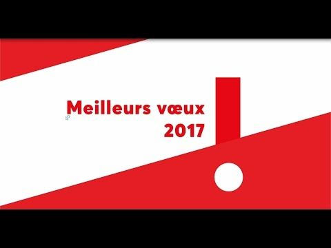 Carte de voeux 2017 - Université Paris Nanterre - YouTube