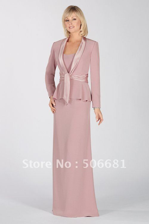 Free Shipping New hot sexy Mother of the Bride Dresses prom gown satin Sheath  formal dress women's evening dress cocktail Dress US $109.47