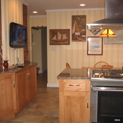 kitchen photos painted paneling design pictures remodel decor and ideas - Kitchen Paneling Ideas