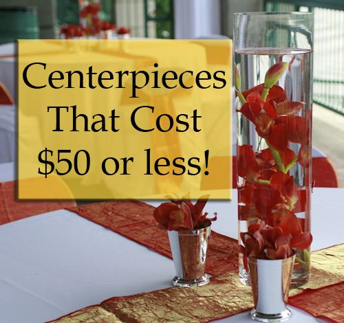 Great blog on centerpieces that look expensive but are affordable