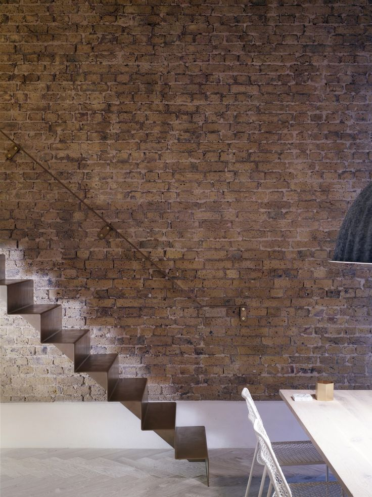 Best Dezeen — A Folded Steel Staircase Runs Alongside An 400 x 300