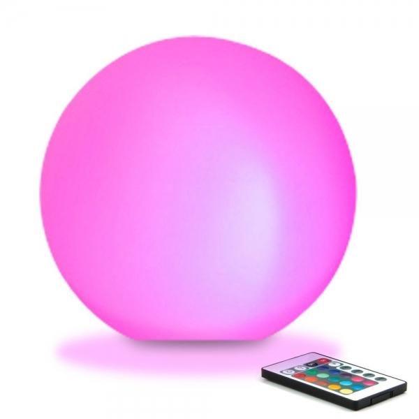 8cm Ultra Fun Led Glowing Ball Light 16 Rgb Color Changing Lamp Color Changing Lamp Ball Lights Mood Lamps