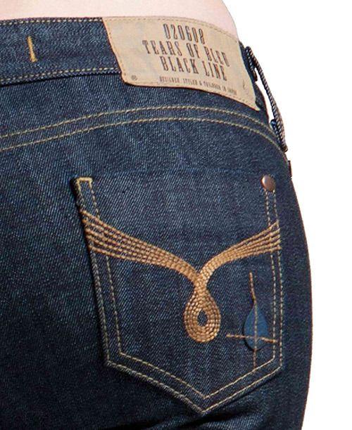 Women's Flare Jeans, Wide-Leg, Bell Bottom Jean - Rinse Wash