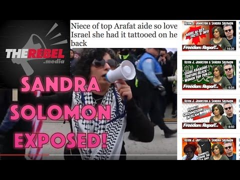 Sandra Solomon EXPOSED - Kevin J Johnston and the Rebel ZIONIST Mission!