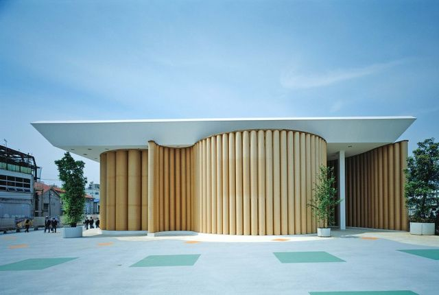 Inside the Cardboard Chapel That Replaced an Earthquake-Ruined Church - Shigeru Ban