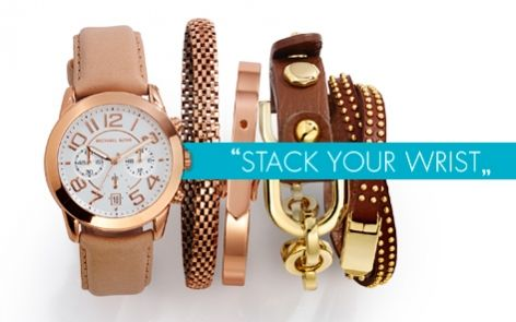 Stack your wrist with winter colours