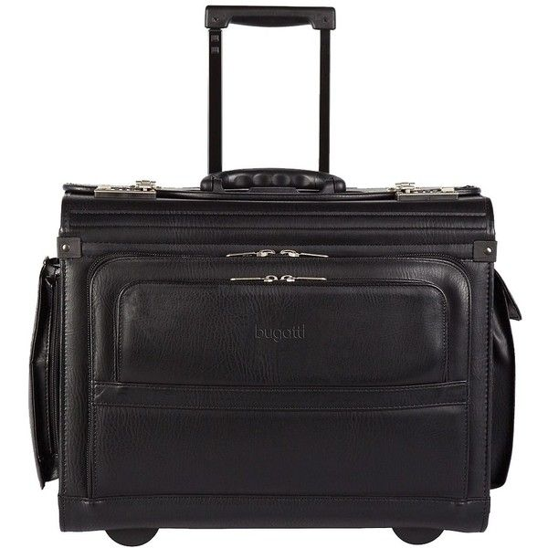 Bugatti Rolling 15-inch Laptop Business Case (£130) ❤ liked on Polyvore featuring bags and luggage