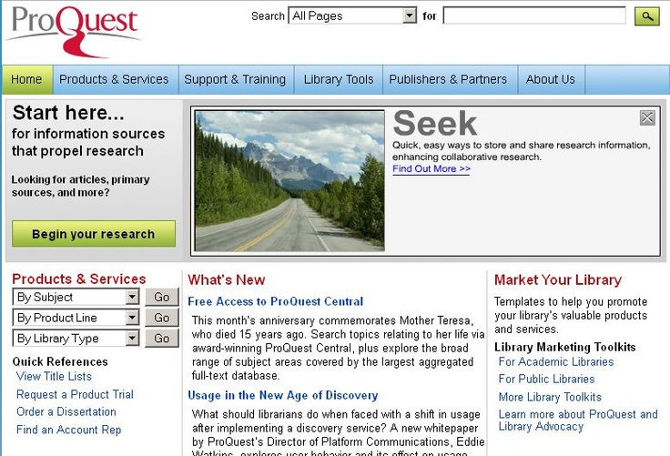 proquest dissertation database search Proquest dissertations and theses is the world's most comprehensive collection of dissertations and theses, the official digital dissertations archive for the library of congress, and the database of record for graduate research.