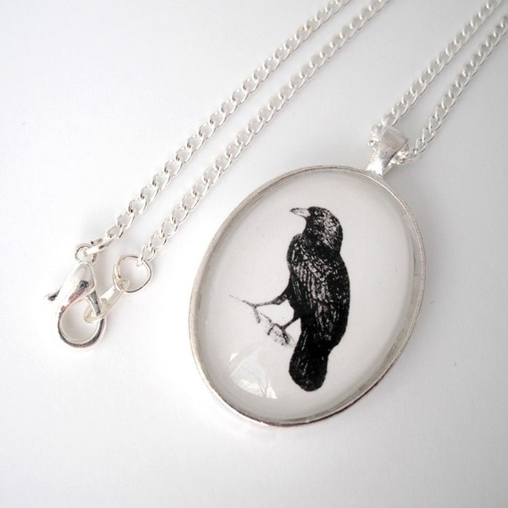 for fans of Edgar Allen Poe's, The Raven. Don't know about Florence, but I LOVE The Raven, and birds.