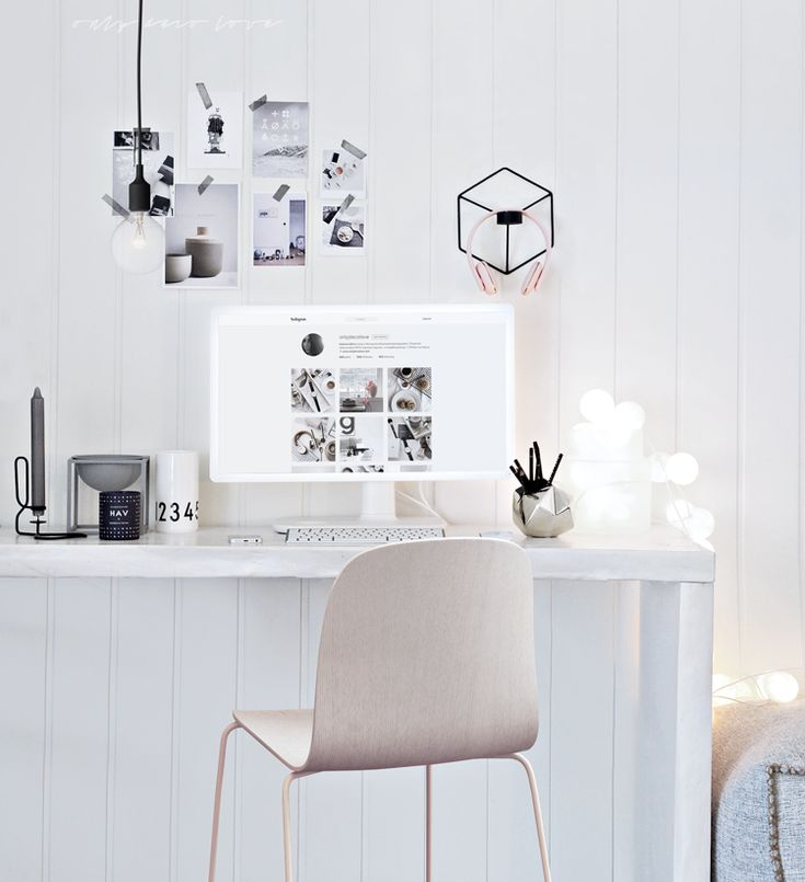 Only Deco Love: Office Christmas look with less