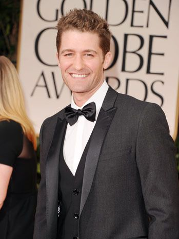 Liking this vest style on Glee's Matthew Morrison