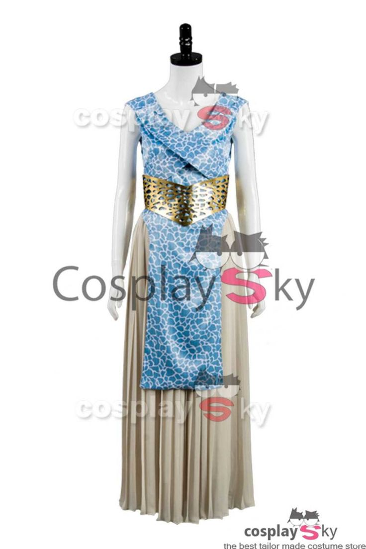 GOT Game of Thrones Daenerys Targaryen Dany Dress Cosplay Costume_8