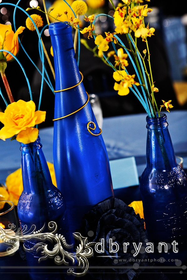 The best yellow centerpieces ideas on pinterest