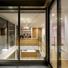江南の家(プライベートテラスと蔵のある家) (バルコニー2)