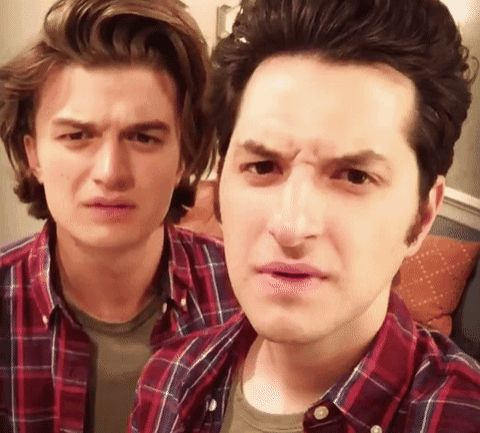 New trendy GIF/ Giphy. parks and recreation parks and rec stranger things ben schwartz jean ralphio joe keery steve harrington thats strange. Let like/ repin/ follow @cutephonecases