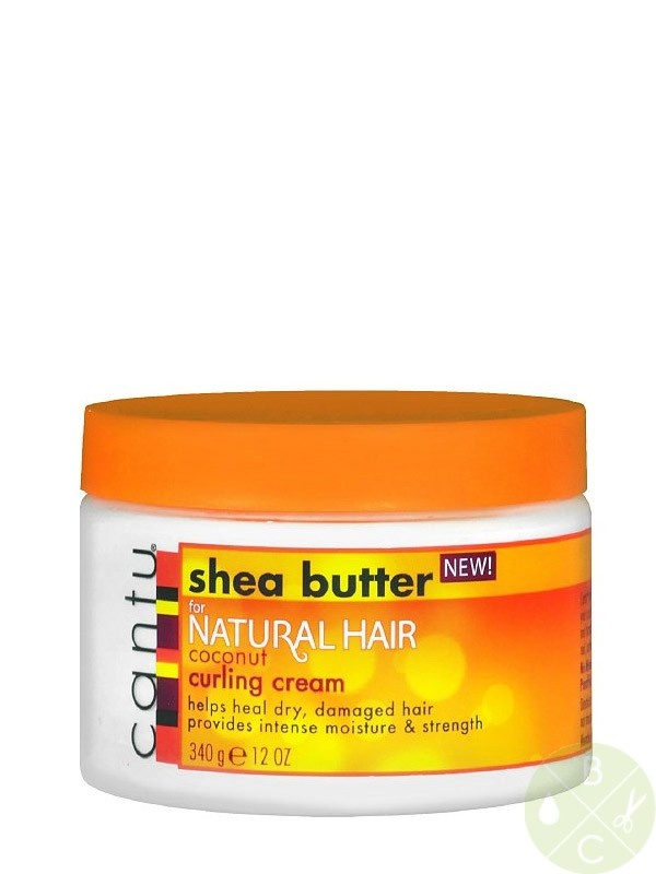 Cantu Shea Butter for Natural Hair Coconut Curling Cream 12oz