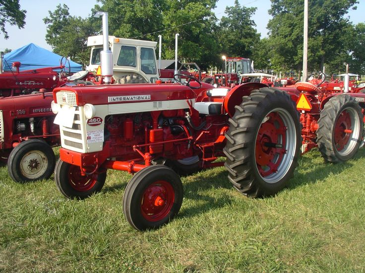 Ih 460 Utility Tractor : Ih hi utility red power round up lima oh