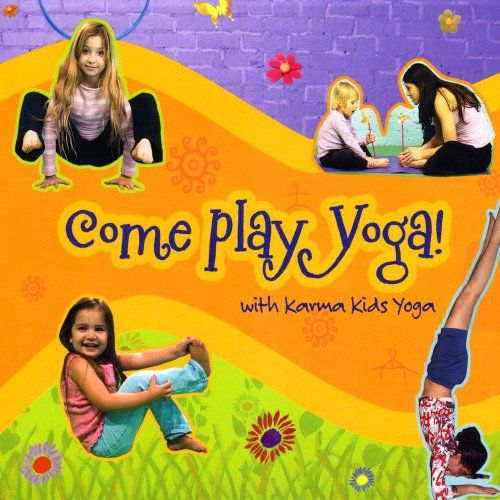 Come Play Yoga by Karma Kids Yoga - CD with fun, upbeat songs that include simple yoga instruction. http://www.amazon.com/dp/B001OPUUZK/ref=cm_sw_r_pi_dp_v5puub1M3HHNN