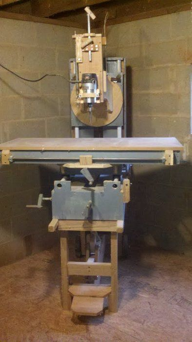 Wooden Wood Milling Machine