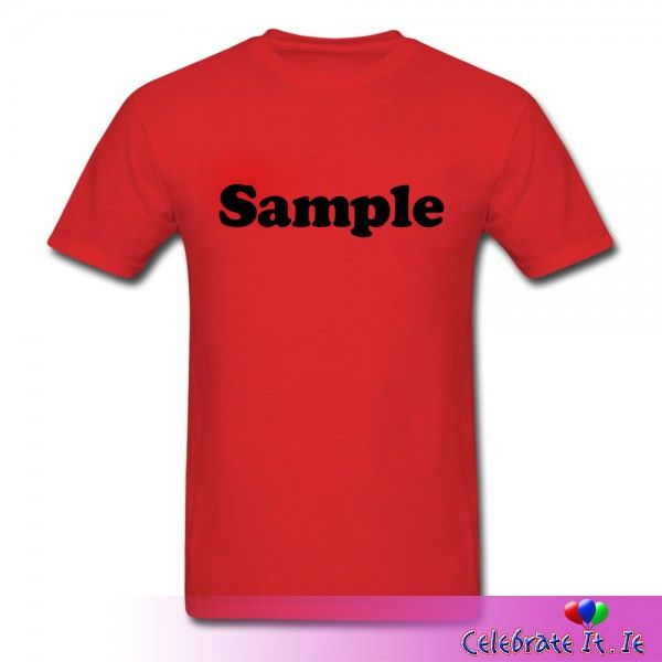 PERSONALISED T-SHIRT (TWO SIDE)  Design It Your - High quality, #personalised t-shirts are a great way to bring a touch of creativity to any #event, be it #birthday, #hennight or corporate.