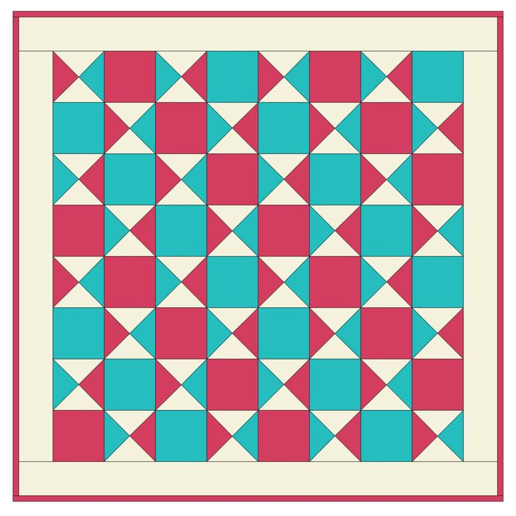 Quilt Patterns Quarter Square Triangles : 1/2 square triangles quilting ideas Studio Quarter Square Triangle Baby Quilt Pattern- Free ...